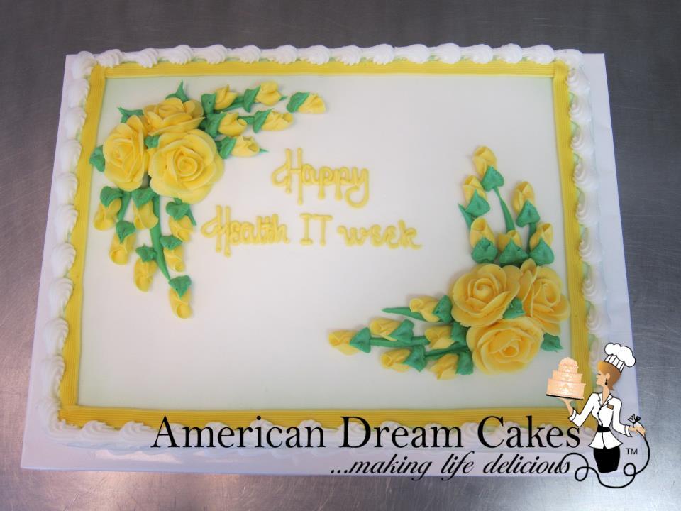 Basic Decorated Cakes   American Dream Cakes