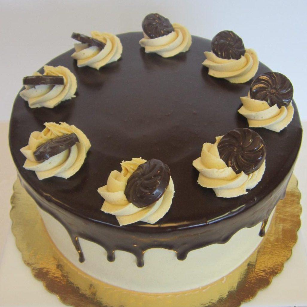 Peanut Butter Chocolate Torte