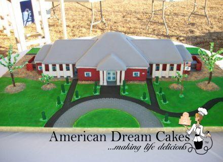 Fisher House, Camp Lejeune NC,Grand Opening cake