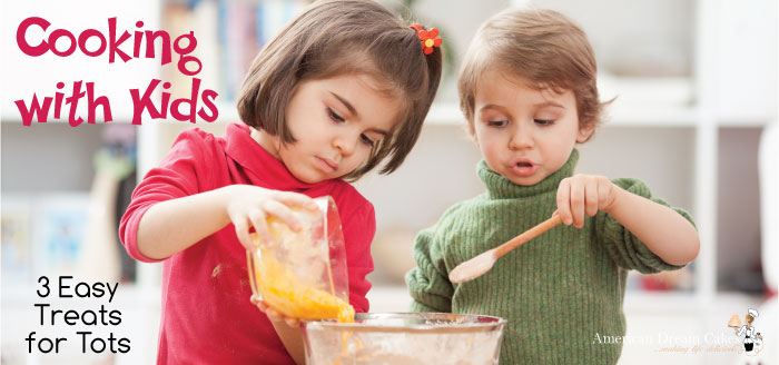 Cooking with Kids: 3 Easy Treats for Tots