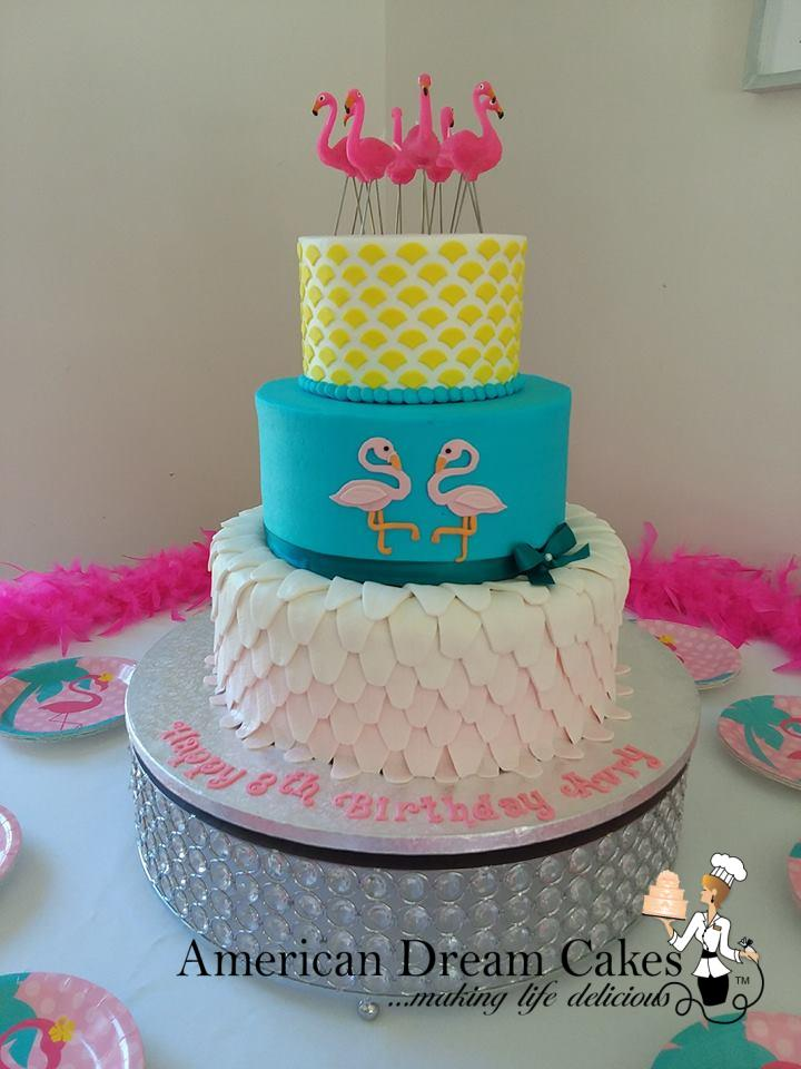 Tiered Custom Cakes American Dream Cakes American Dream
