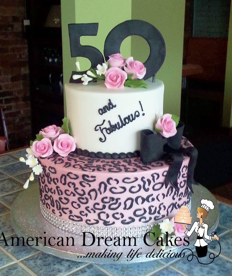 Tiered Custom Cakes American Dream Cakes American Dream