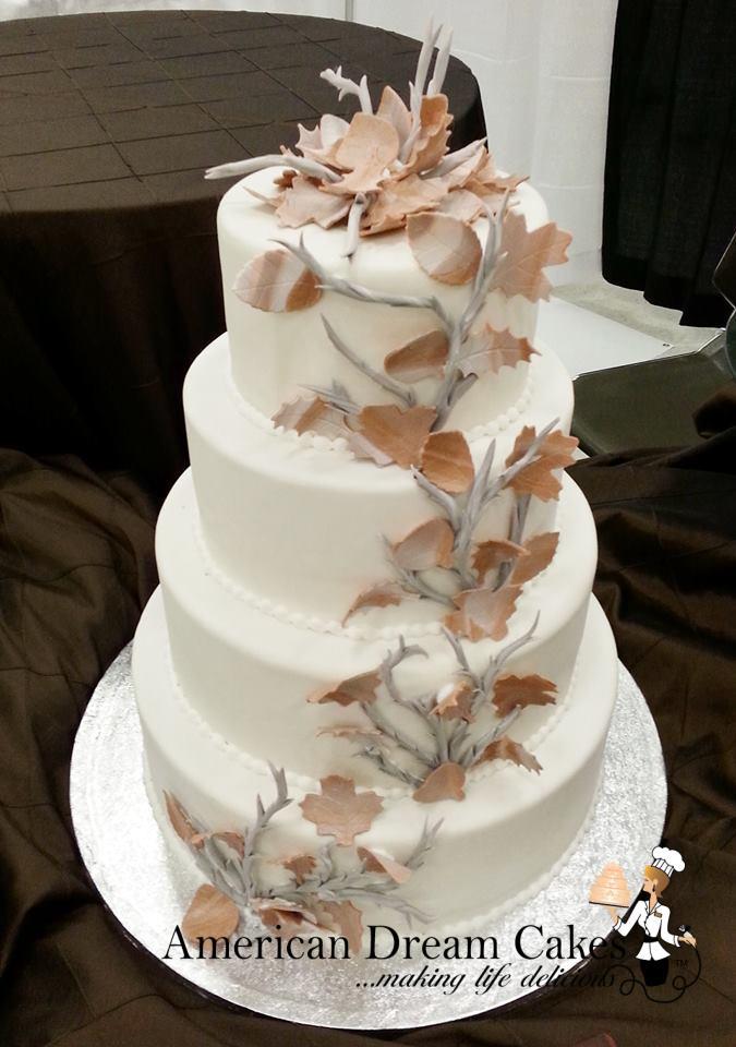 Rustic Fall Wedding Cakes