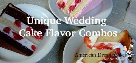 Unique Wedding Cake Flavor Combos