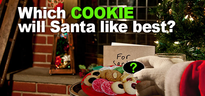 Which Cookie Will Santa Like Best?