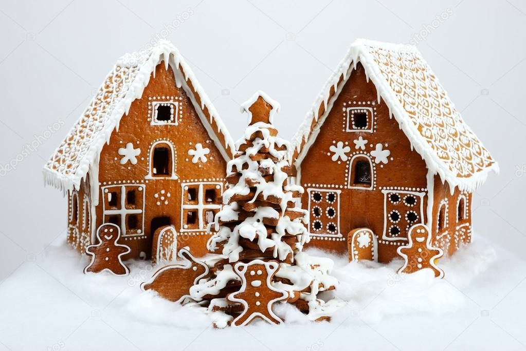 Making History with Gingerbread Houses