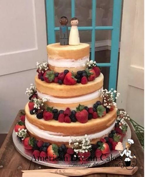 FRESH & FUN WEDDING CAKES