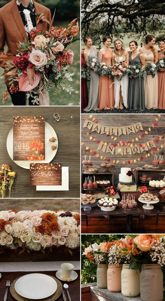 2019 fall wedding trends
