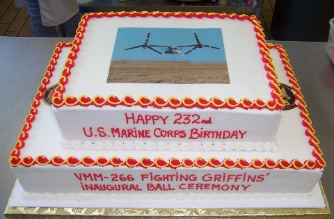 marine corps cake cutting ceremony