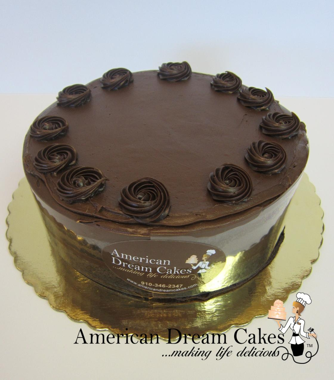 Chocolate Fudge Halvsie