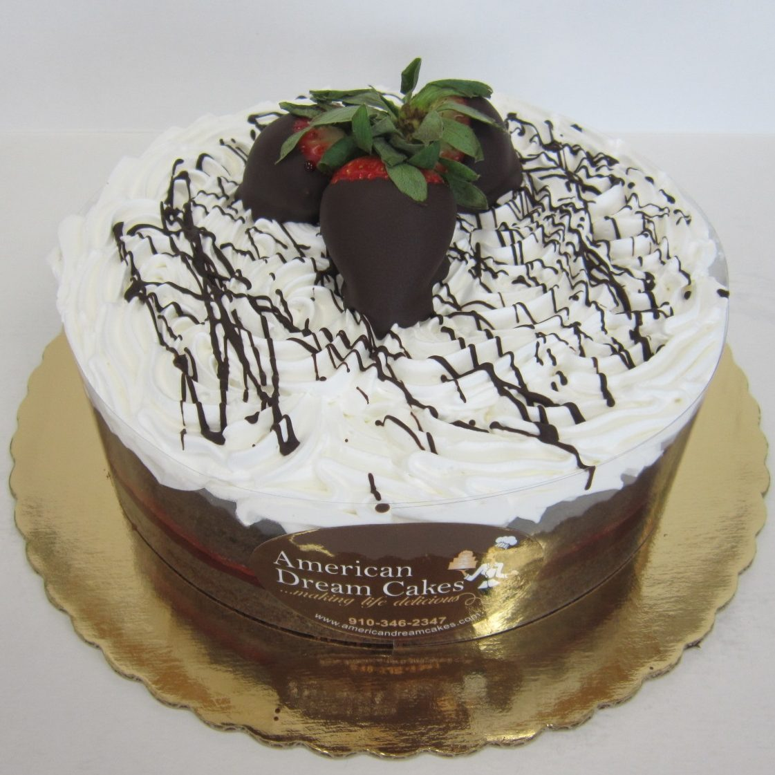 Chocolate Strawberry Halvsie