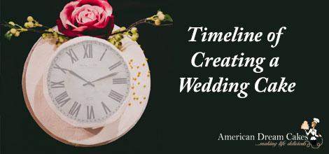 Timeline of a Wedding Cake