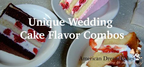 Unique Wedding Cake Flavor Combos