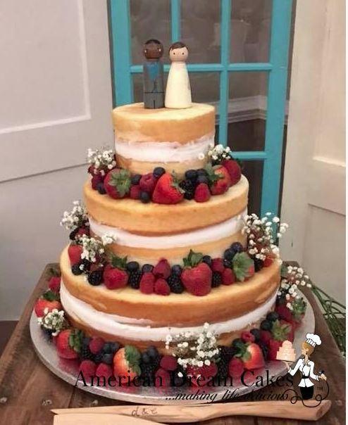 FRESH & FUN WEDDING CAKES