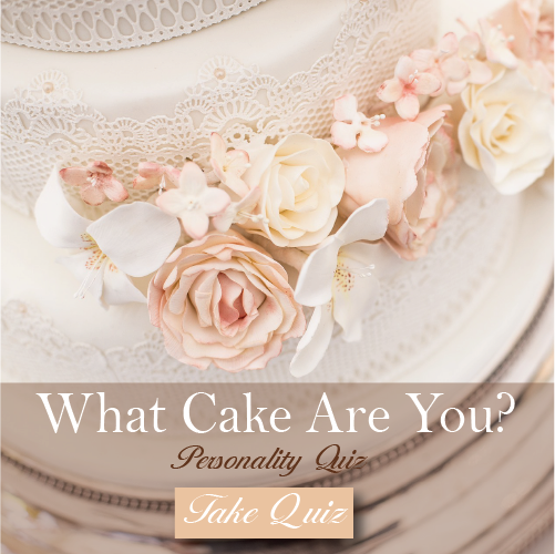 What Wedding Cake are You Quiz
