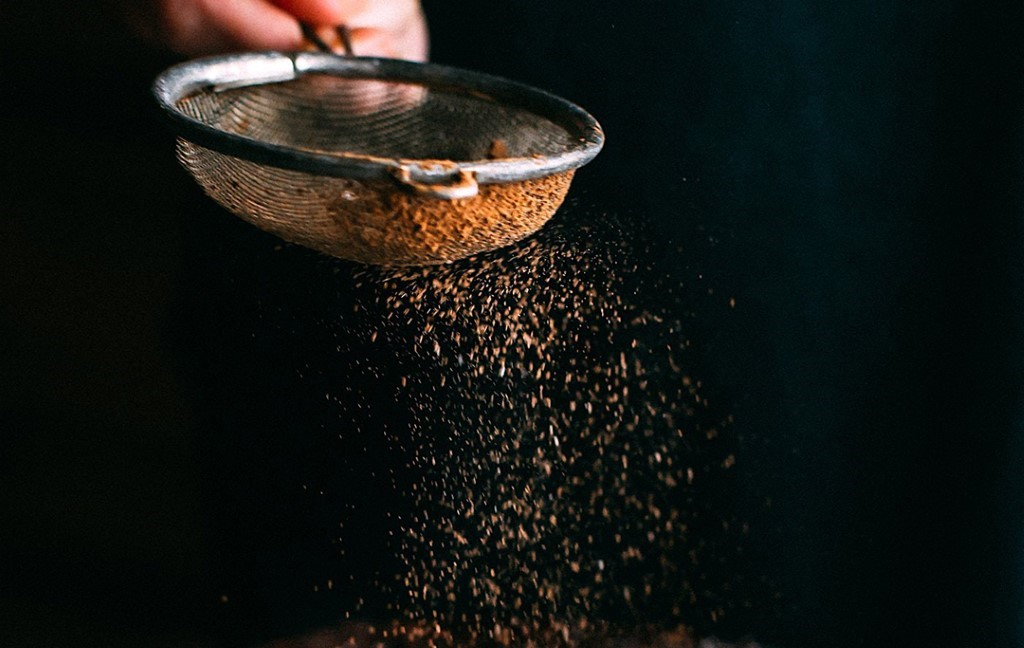 sieve for sifting ingredients